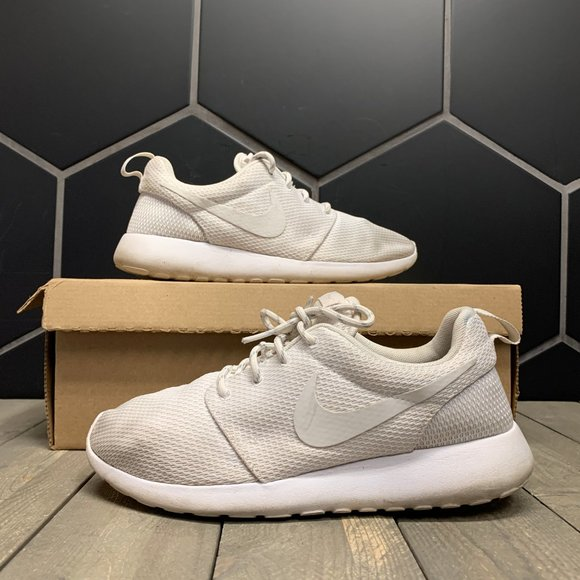 buy good official shop buy popular Nike Shoes | Used Womens Roshe One Triple White Size 8 | Poshmark